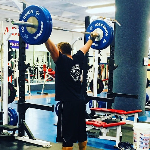 16 Week Weightlifting Template