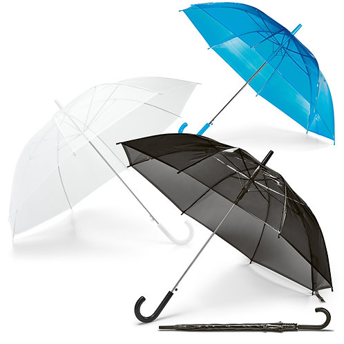 99143s Guarda-chuva Translúcido. Ab. Automática