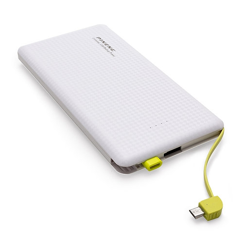PINE10000x Power Bank Plástico Pineng Branco. 10.000 mAh