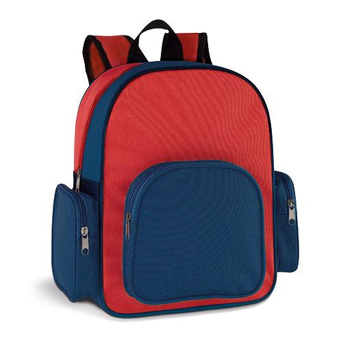 92615s Mochila Azul e Vermelho