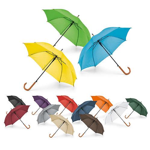 99116s Guarda-chuva. Pega de Madeira. Ab. Automática