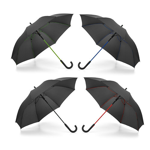 99145s Guarda-chuva. A Prova de Vento. Pega de Borracha. Ab. Automática