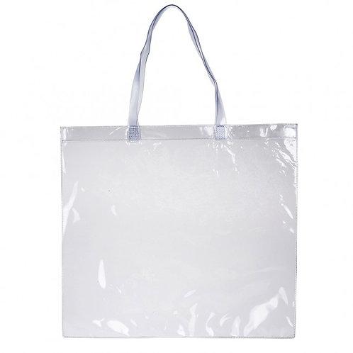 13254x Sacola Plástica Transparente 39,2 X 43,7