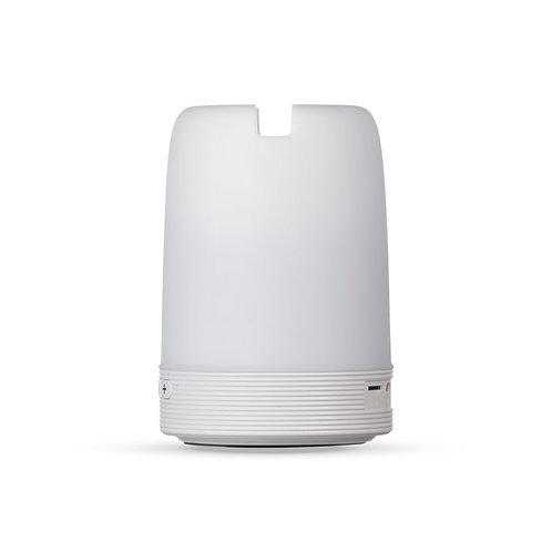 02017x Caixa de Som Multimídia com Luzes, Suporte para Celular e Porta Caneta 5W