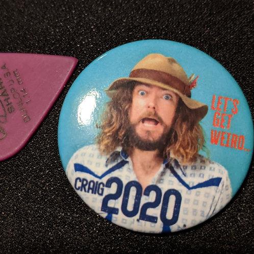 Craig Presidential Campaign Button