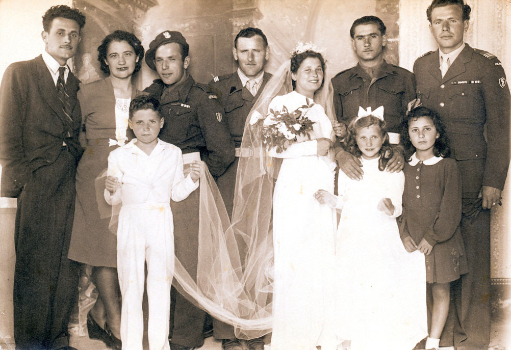 Italy 1946-4 Friends