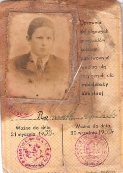 01 School Report from 1938