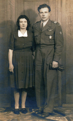 UK 1946 with Friend's wife