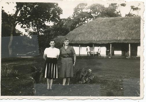 Policewoman in Masindi, Kenya, 1944