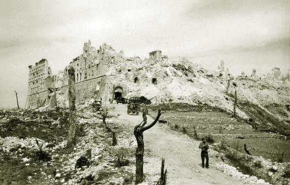 12 Monte Cassino Monastery ruins 1944