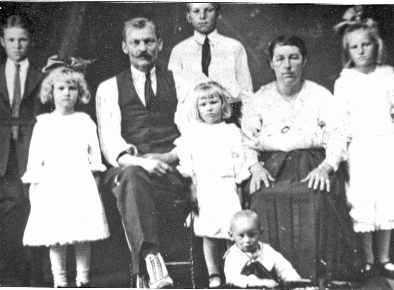 The Uchman Family Just Prior to thei