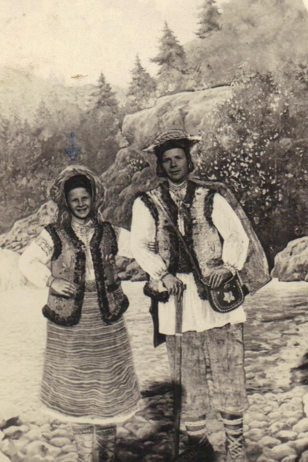 04 zaleszczyki - 1937 I as girl with Wla