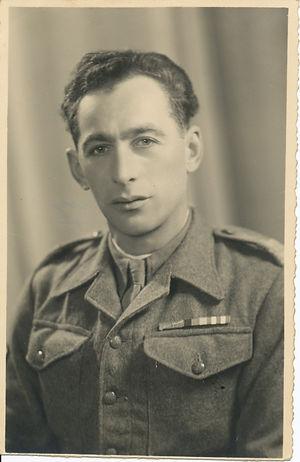 Joxef Steciuk, Polish 2nd Corps