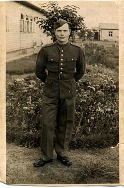 Michal Szypowski in 1st Polish Armoured Division