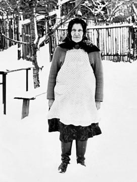 Emilia Siomkajlo (Jan's sister) in Boryslaw 1940s