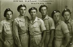 11 Members of 12 Podolski Motor Platoon.