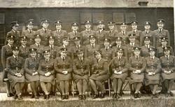 Graduation photo of a group of WAAFs