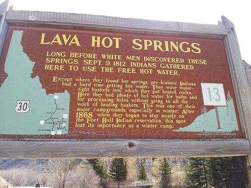 Lava Hot Springs One Day Tour