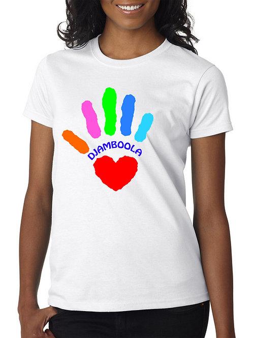 """T-shirt """"Main sur le cœur"""""""