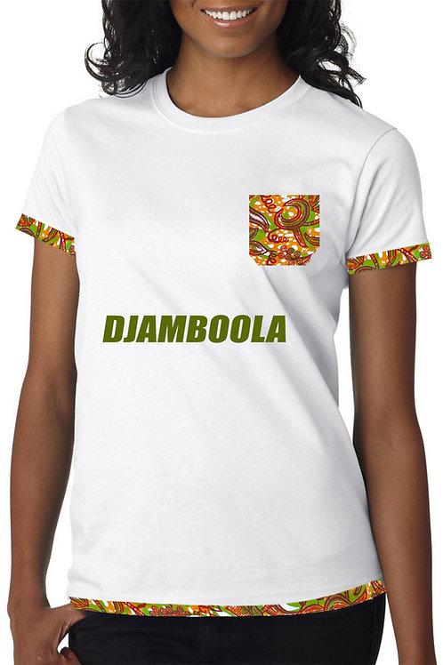T-shirt ''Éclats de Pagne''