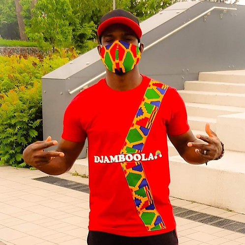 Kit d'ensemble Tshirt ''Pagne'' et Masque Anti-Covid