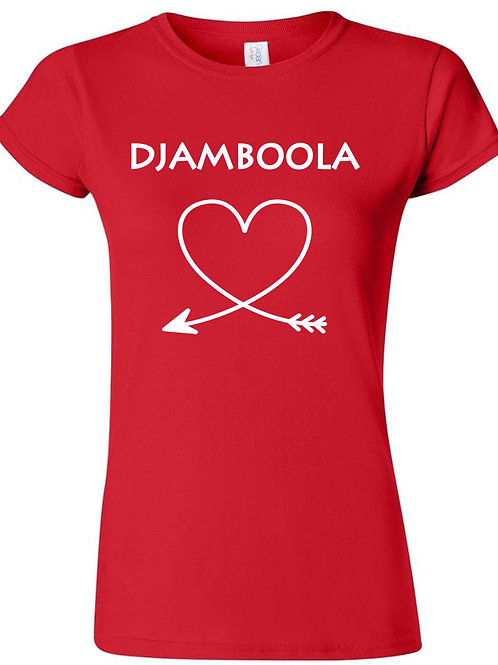 "T-shirt ""Djamboola, my love"""