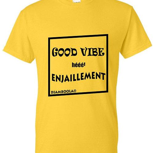 "T-shirt ""Good Vibes"""