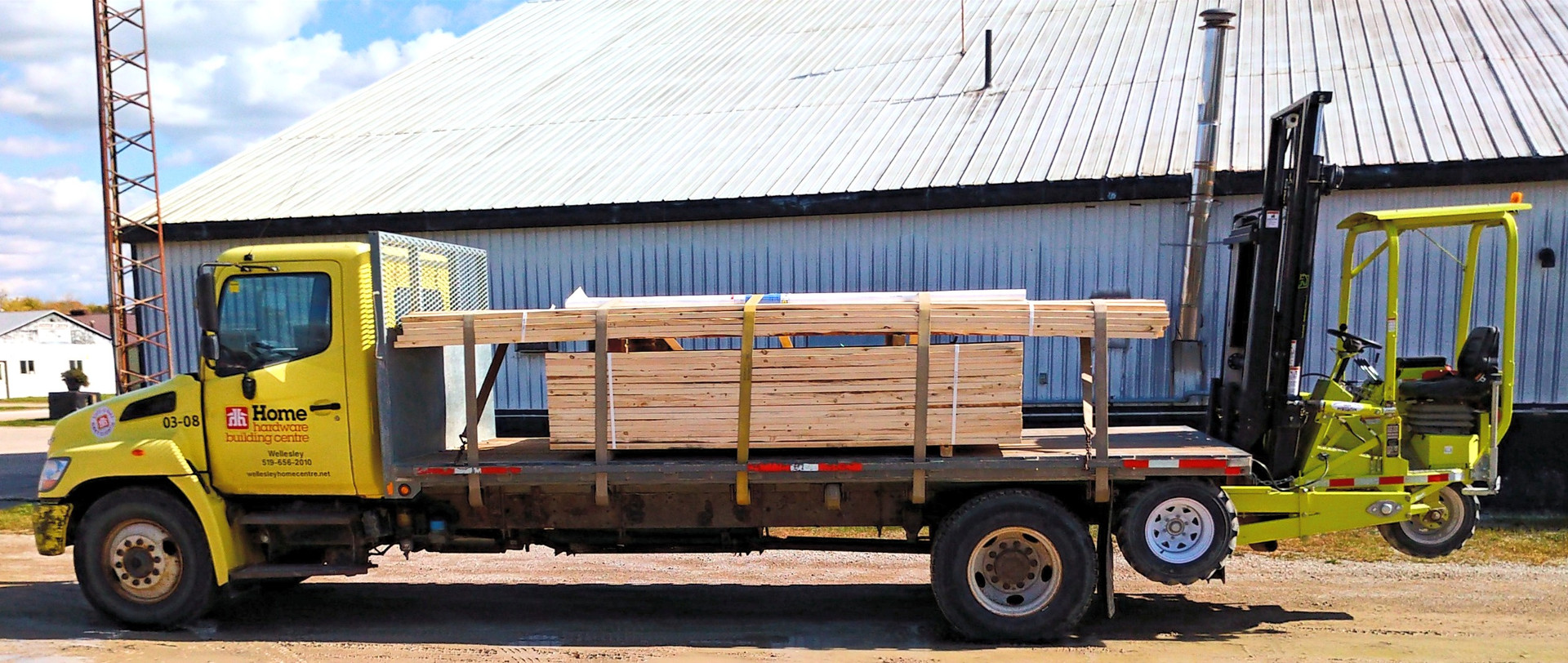 Donkey Truck Carried Forklifts