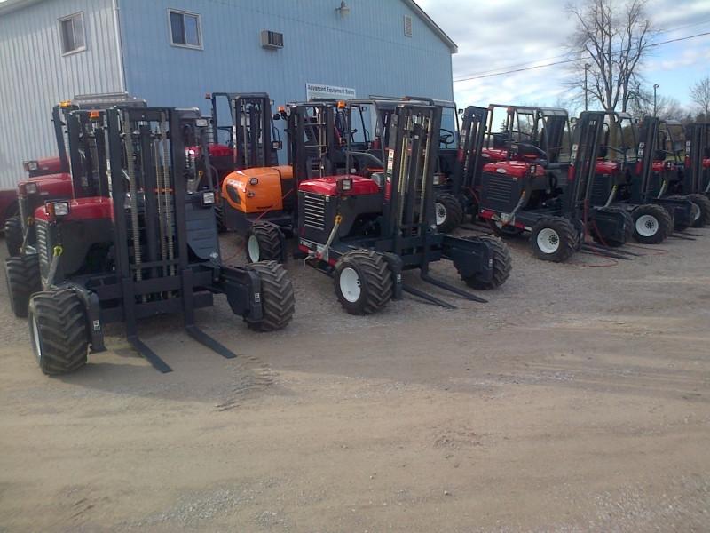 2008, 2009 & 2010 Moffett Forklifts
