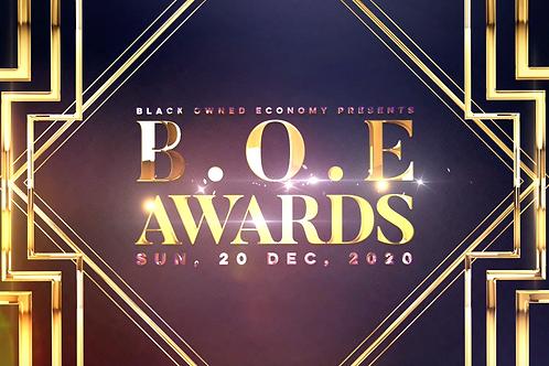 B.O.E Awards Donation