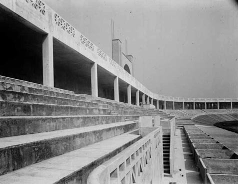 Tribunes du stade de Gerland