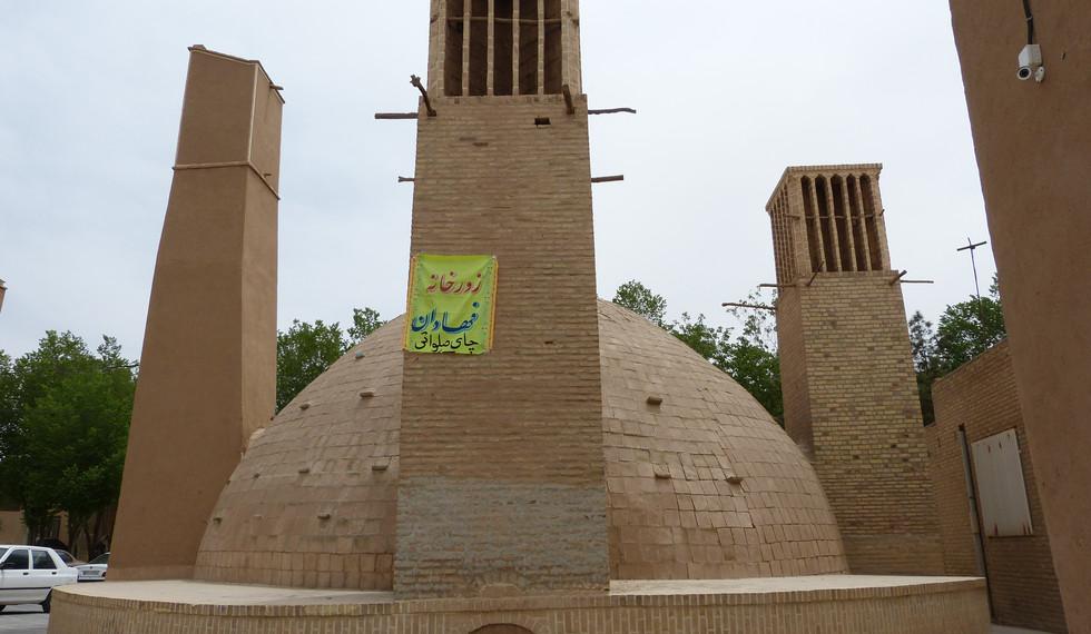 Bâdgir à Yazd