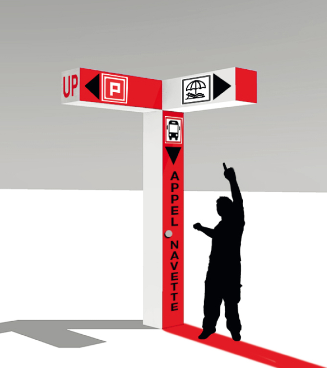 TOTEM  Mobilier urbain