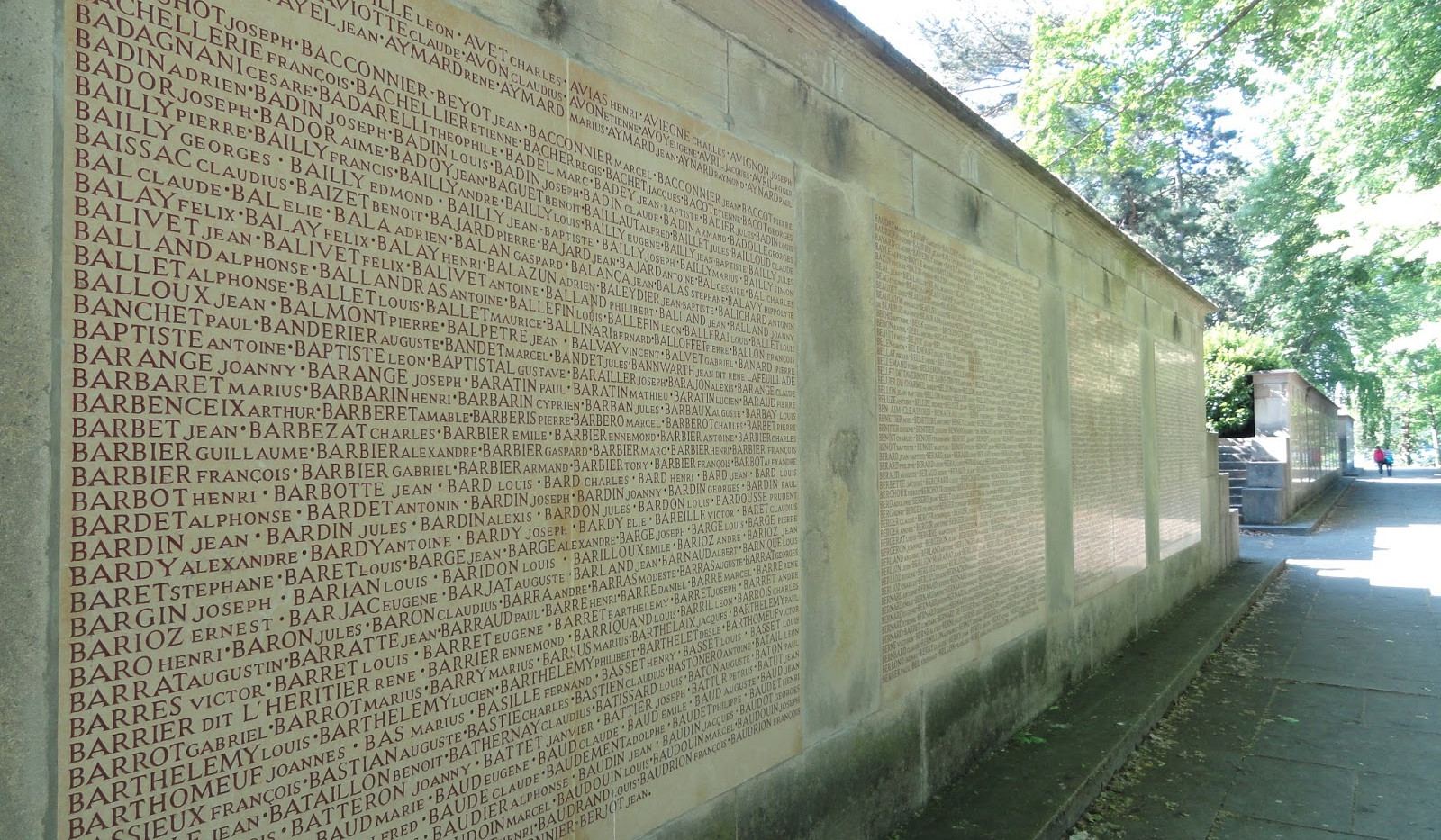 Monument aux morts de l'île aux Cygnes