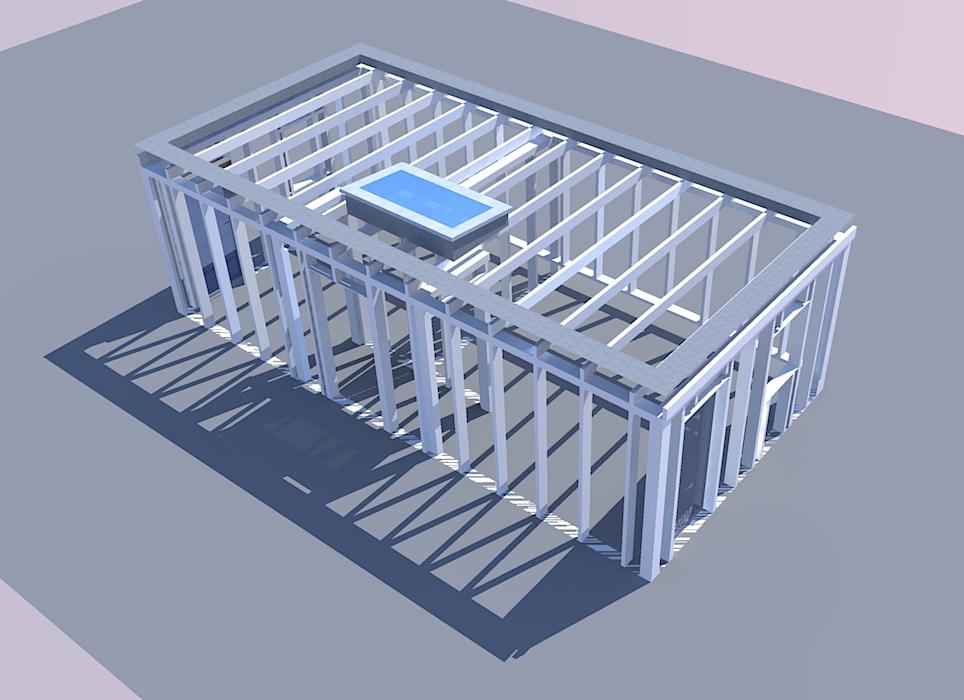 Structure Surélévation OSB