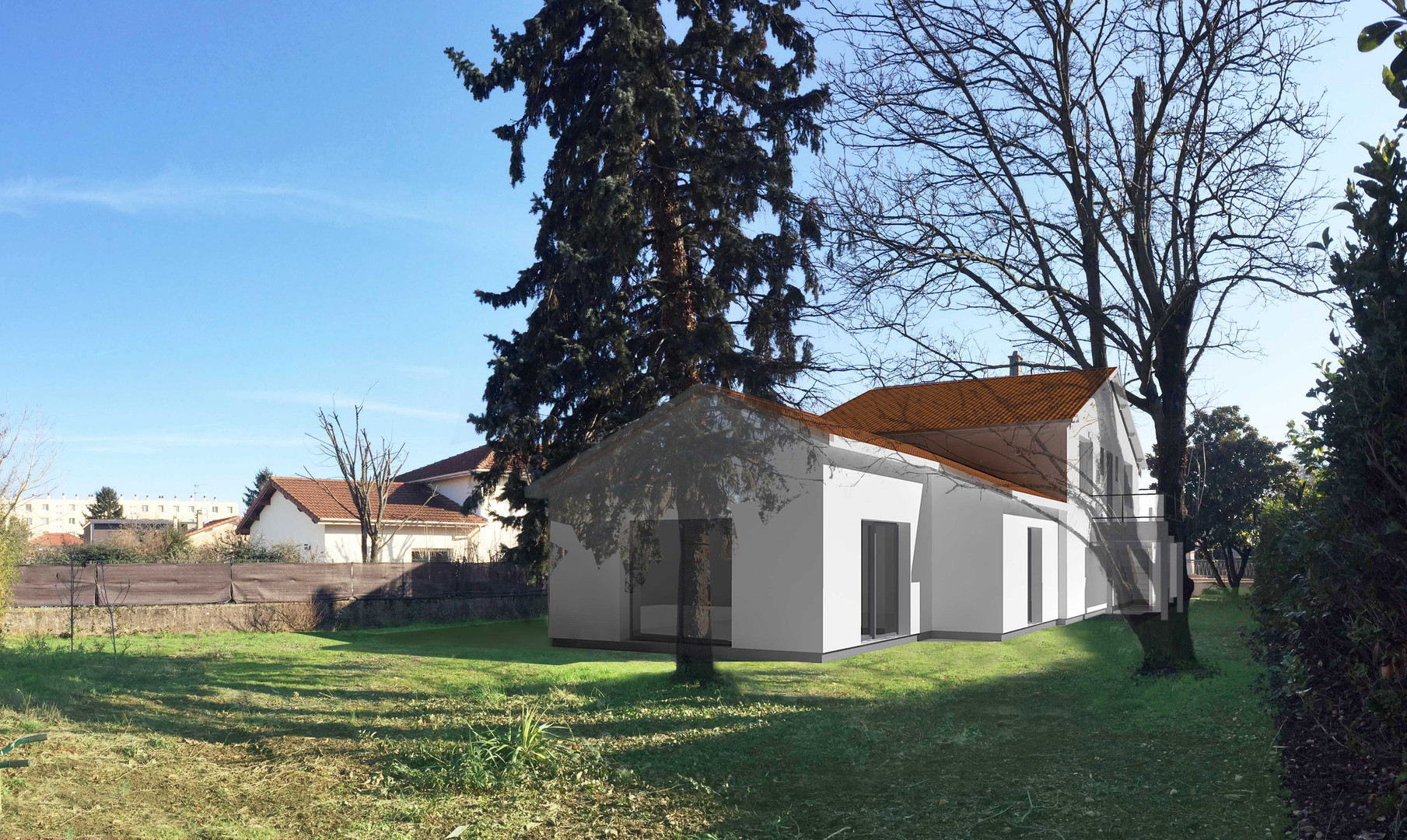 Saint-Priest Extension -Perspective
