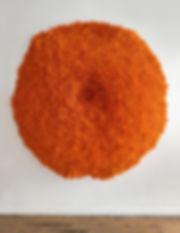 Sunburst Lichen, original   July 2018 (sold)