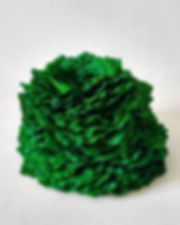 Lichen, 6 in x 6 in x5; 15 cm x 15 cm x 13 cm  February,2019  (sold)