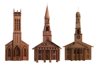 Churches on the New Haven Green