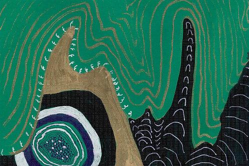 Stream of Consciousness Series Sketch #3