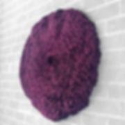Caloplaca Lichen, purple, 72 x 72 x 8 in; 183 x 183 x 20 cm  December 2018 (sold)