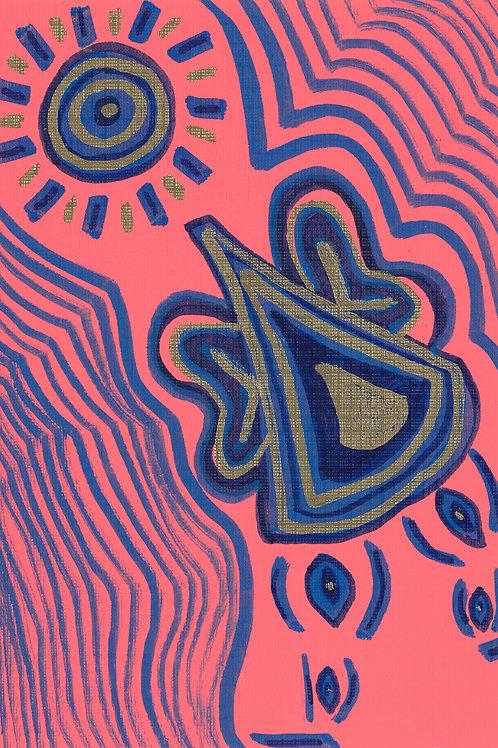 Stream of Consciousness Series Sketch #15