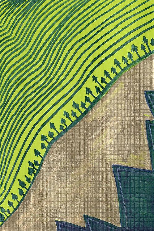 Stream of Consciousness Series Sketch #11