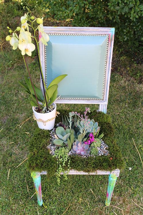 Chaise Florale (sur-mesure)