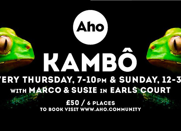 Kambo with Marco & Susie: Every Thursday & Sunday in Earls Court