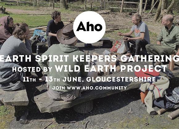 Earth Spirit Keepers Gathering. 11-13th June. Deposit