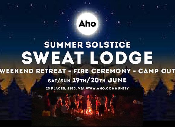 Summer Solstice Sweat Lodge: Weekend Retreat - Fire - Camp. 19-20th June