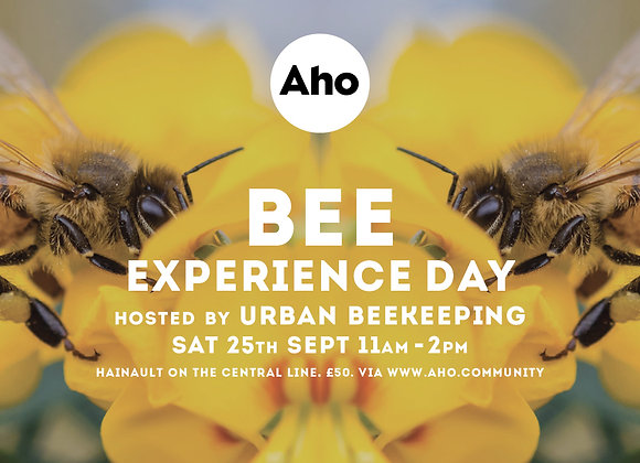 Bee Experience Day! Sat 25th Sept, 11am-2pm