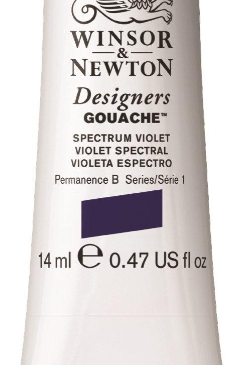 625 W&N Designers' Gouache 14ml - Spectrum Violet