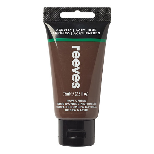 540 Reeves Artists' Acrylic Tube - Raw Umber